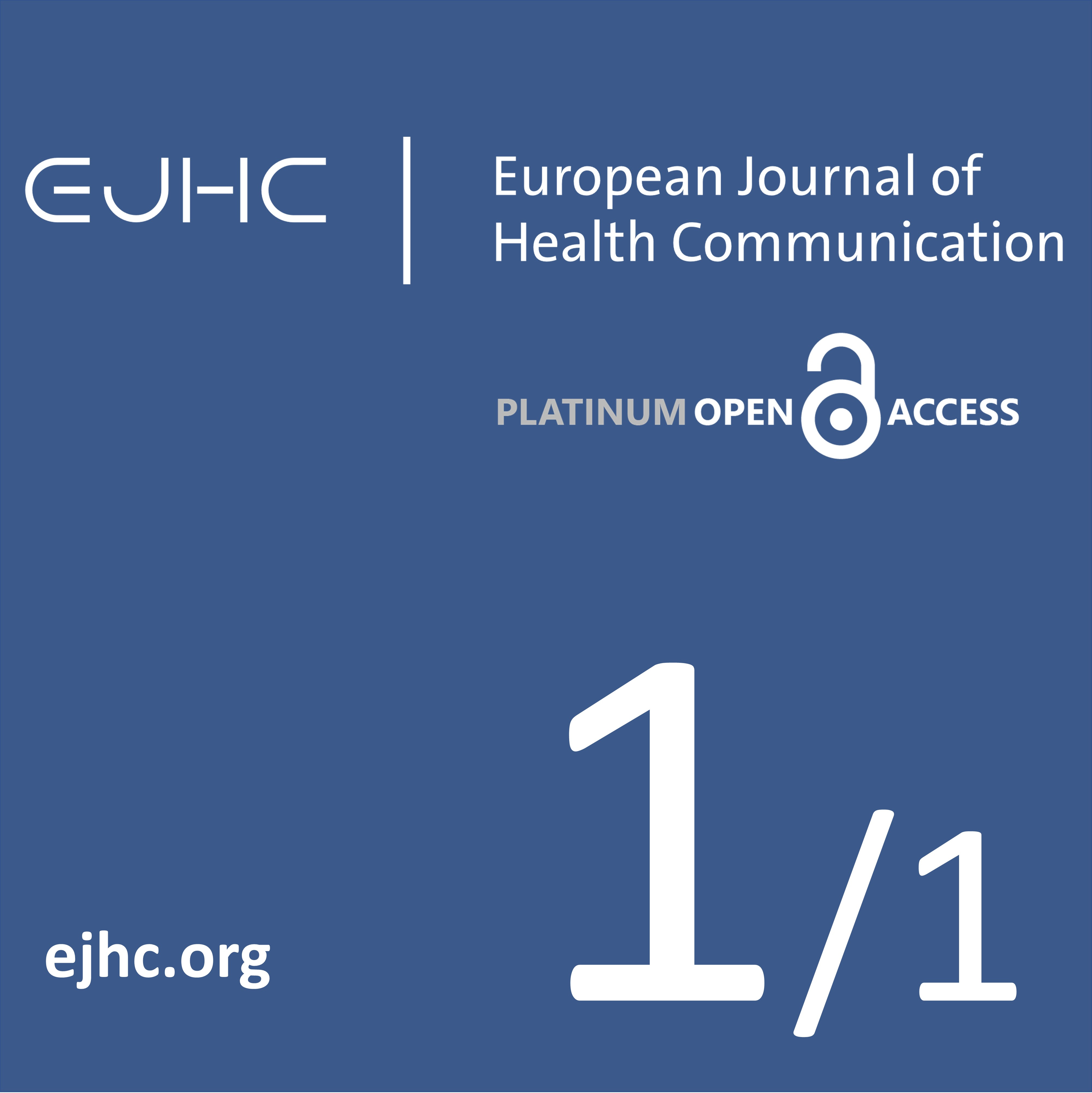 EJHC - European Journal of Health Communication